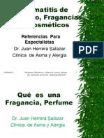 Dermatitis de Contacto  Fragancias  y Cosméticos