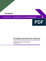 Impacto de la Internet en la prensa -José M. Cerezo / Juan M. Zafra