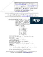 Inventory of Pakistani Airlines and Pakistani Aviation
