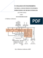 Microprocessor and Micro Controller Lecture Notes