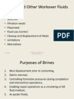 Brines Fluids and Filtration