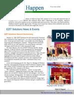 EZITS First Half 2008 Newsletter