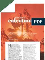 Frenazo al calentamiento, Viñedo y Cambio climático. Revista Club de Gourmets, octubre 2011