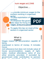 Minimum Wages Act,1948