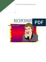 RECEPCIONISTA NOCIONES