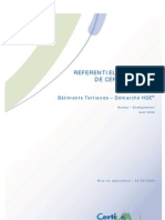 Référentiel Technique de certification_2006