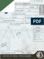 Registros Parciales de Los Candidatos a Spartan II. Kurt. A