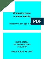 Corso di giornalismo - storia del giornalismo