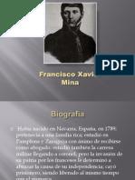 Francisco Xavier Mina 3° B