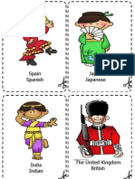 Countries Flashcards