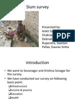 Slum Survey