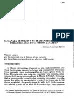 lLa Manada de Ovejas... El Hierro. Manuel J. Lorenzo Perera