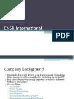 ENSR International Group 7 Sec B
