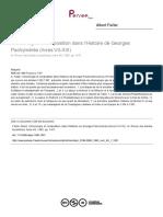 Albert Failler. Chronologie et composition dans l'Histoire de Georges Pachymérès (livres VII-XIII). Revue des études byzantines, tome 48, 1990. pp. 5-87.