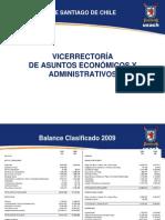 Informe Presupuesto Universidad 2011 Consejo Académico