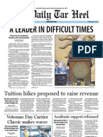 The Daily Tar Heel for October 7, 2011