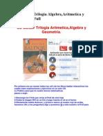 CD Baldor Trilogia Algebra