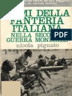 armi della fanteria italiana nella seconda guerra mondiale