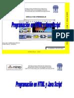 Programacion en HTML y Java Script