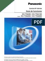 Guia de Funciones KX-TDA30,100,200,600