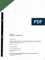 GTC 185 Documentación Organizacional 2009 Vigente