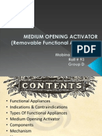 B-medium Opening Activator