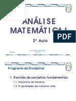 Aulas de Análise Matemática