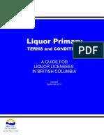 Guide Liquor Primary