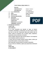 PLANIFICACIONES DEL 10 AL 13 DE OCTUBRE