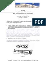 IPC Frequencia Teste-tipo Lig Jan 2006-2007