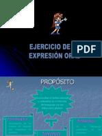 Ejercicio de La Expresion Oral