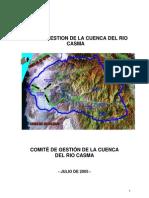 Plan de Gestion de La Cuenca de Casma