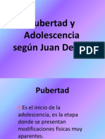 Pubertad y Adolescencia