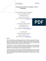 10_bernard_segmentation in Manufacturing and Service Idustry-updated Edited Final