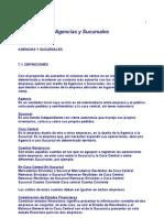 Agencia y Sucursales, Teor+¡a