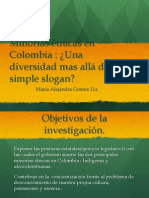 Minorias etnicas colombiana