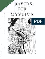 Palo Prayers for Mystics 1st Ed 1992