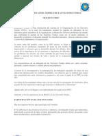 Protocolo Oficial BOLMUN UMSS 2011