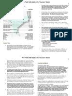 Pre Field Info