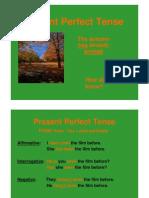 English the Present Perfect Tense (Bahan Ajar)