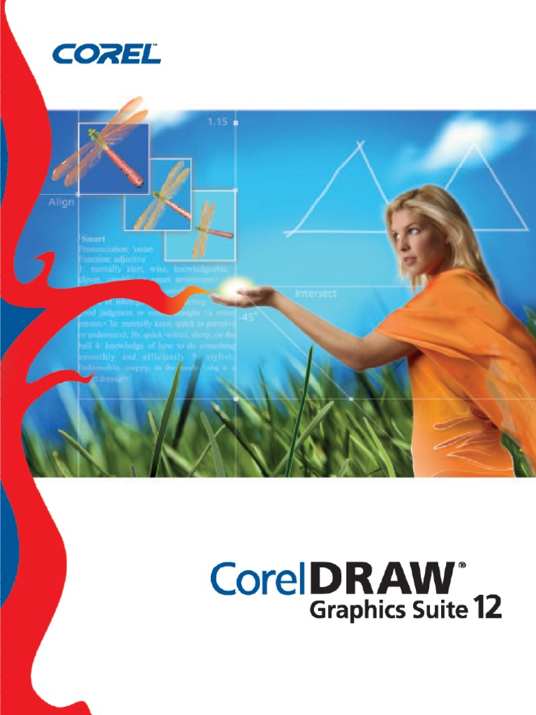 Corel Draw Graphics Suite 12 User Guide | Application Software | Computer  Graphics