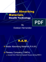 Radar Absorbing Materials Esteban Hernandez