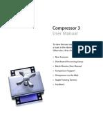 Compressor User Manual