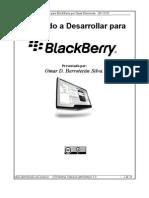 Guia Del Desarrollador Newbie Para Blackberry