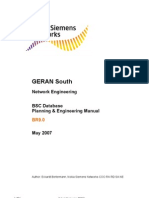 BSC Database Planning & Engineering Manual BR9.0 - First Version BR9