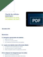 Marché des tablettes numériques_Deloitte