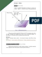 Principle of Photo Electron Spectroscopy