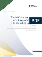 10 Commandment of a Successful R12 Upgrade -- Whitepaper FINAL 20110810
