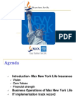 IT PPT-Max New York Life