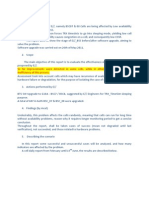 Ericsson Software Upgrade Report